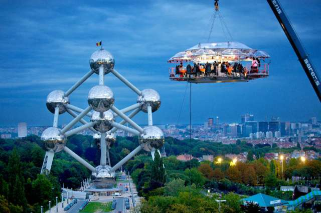 Dinner in The Sky, Bruxelles
