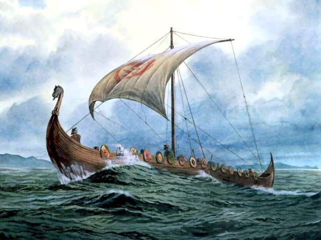 viking_boat_Wallpaper