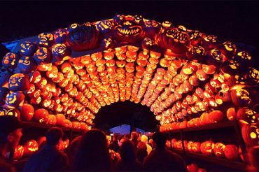 Great Jack O'Lantern Blaze. New York.