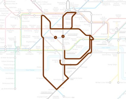 Hounslow West by Animals on the Underground