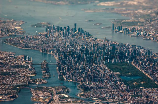 New York City - Veduta Aerea