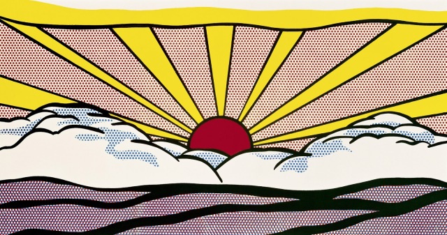 Sunrise, 1965 Print by Roy Lichtenstein
