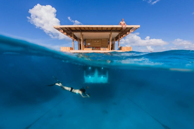 Underwater Room @ Manta Resort, Isola di Pemba (1)