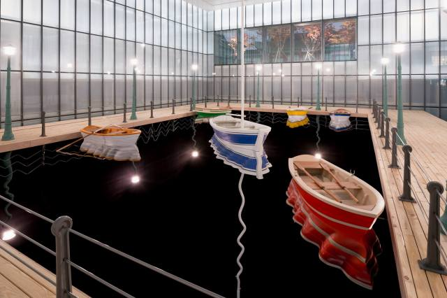 MMCA Seoul, Hanjin Shipping The Box Project 2014 by Leandro Erlich