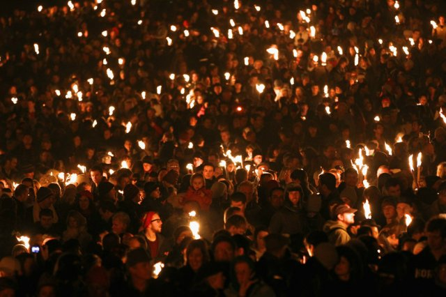 Torchlight Procession III