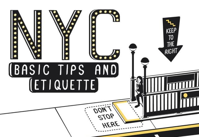 NYC Basic Tips and Etiquette Nathan W.Pyle