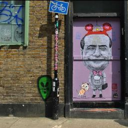 street art a Brick Lane, Londra