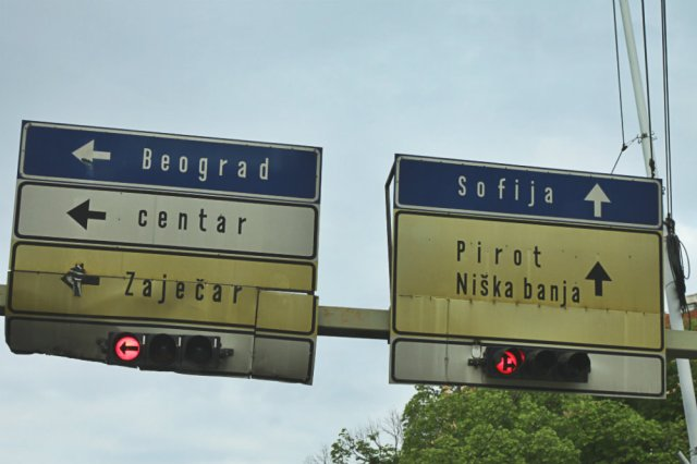 Road Signs, Serbia smARTraveller