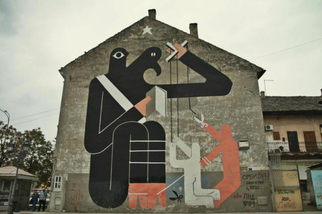Street Art Novi Sad, smARTRaveller