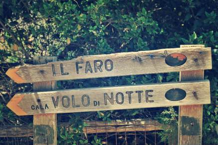 Road signs @ Giannutri island, Tuscany // the smartraveller blog