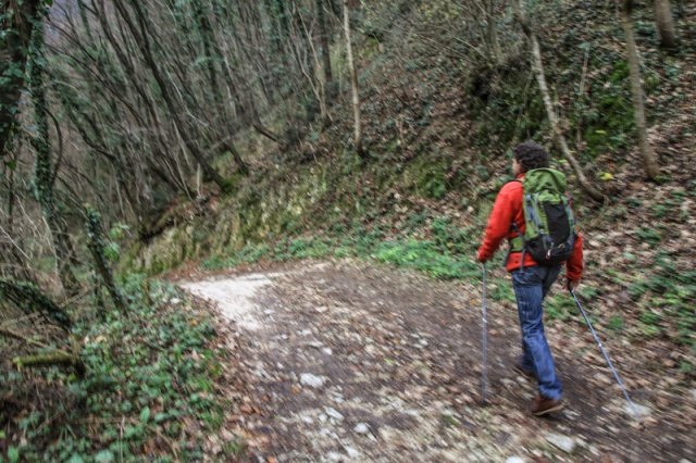 Nordic Walking @ Monte Grappa Outdoor Park. Alle falde del Monte Grappa, Veneto © smartraveller.it