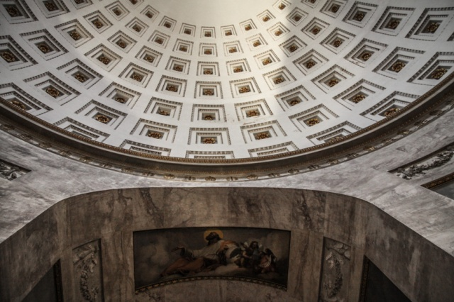 Interno cupola Tempio canoviano, Possagno (Treviso) § Monte Grappa Blogtour © smartraveller.it
