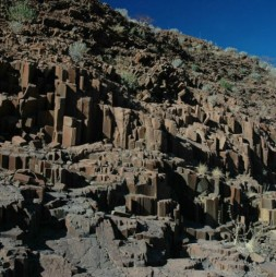 Organ pipes nel Damaraland