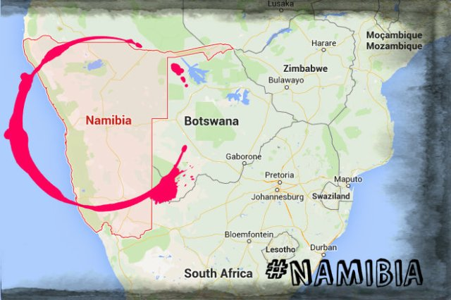 NAMIBIA #Travel2015 by smARTraveller