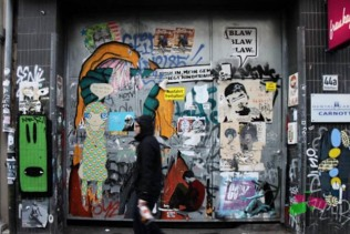 Street Art. Belgian Quarter - Cologne © smartraveller blog