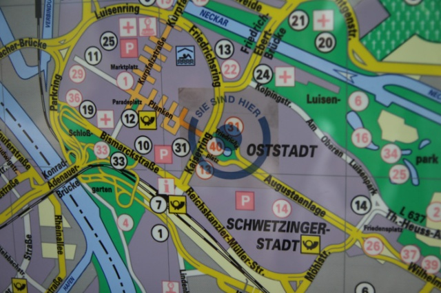 Oststadt you are here Mannheim Germania © smartraveller blog