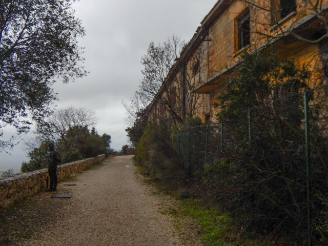 Abandoned army barracks, Bunker Soratte, Sant'Oreste ©smartraveller blog