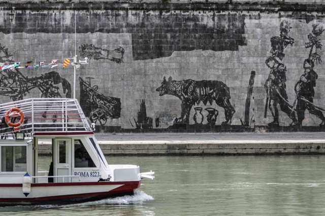 Triumphs and Laments, William Kentridge Tevereterno Roma - smartraveller blog
